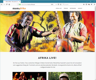 Mama Afrika - Percussion Band